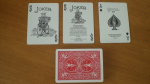 Bicycle Poker : Jokers and Aces