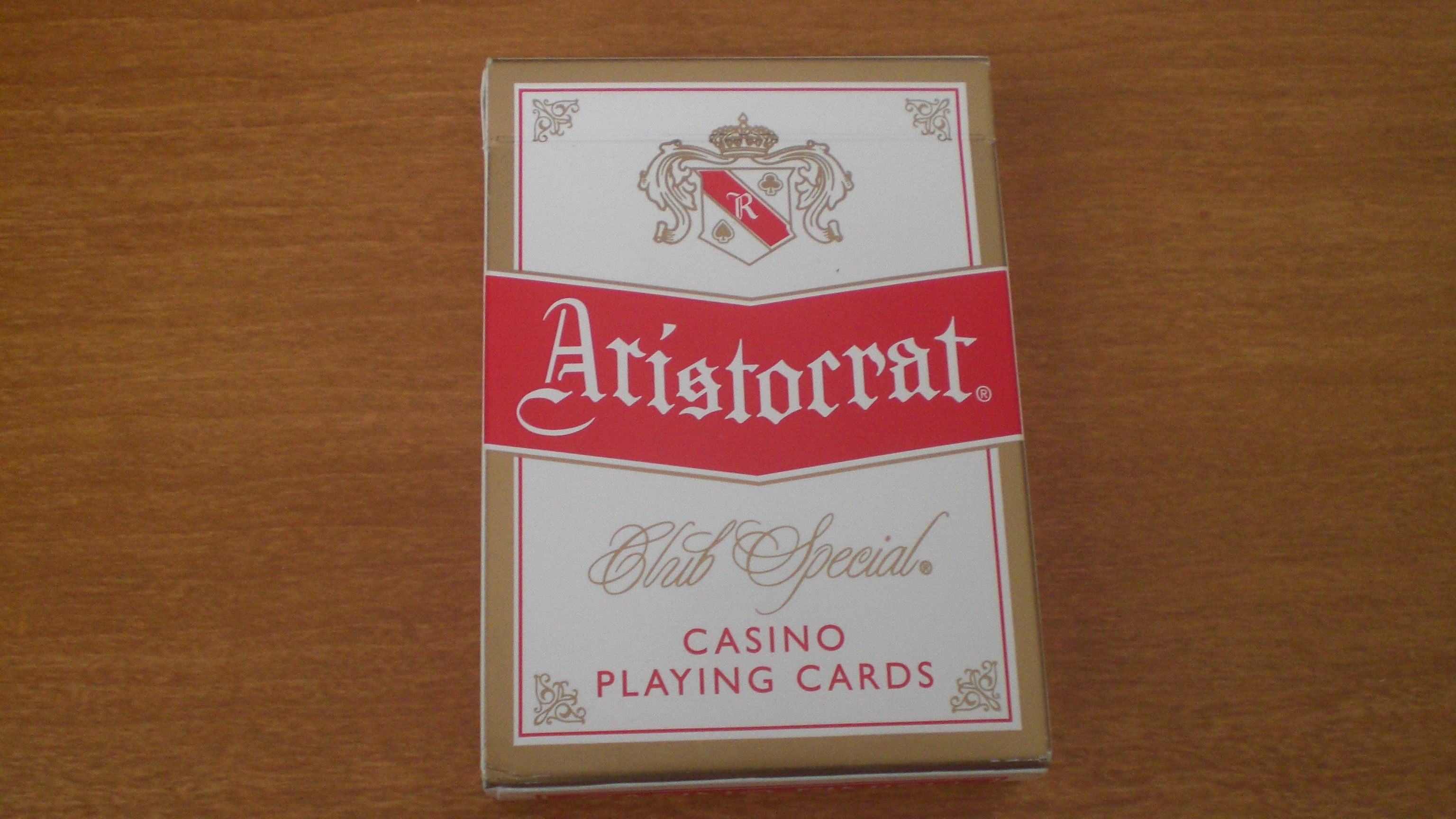 aristocrat casino cards