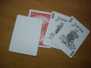 Vintage : 52 + 2 Jokers and 2 Blanks