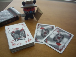 "Crimson : ""Bloody"" Ace of Spades and Jokers"