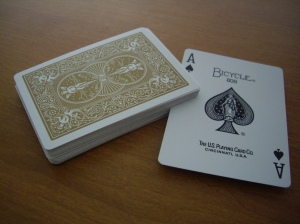Prestige : The Ace of Spades is clean.