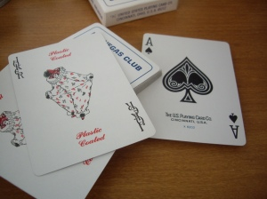 LVC Old : Ace of Spades and Jokers