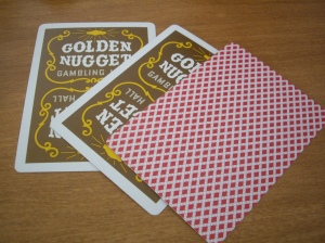 Nugget : Printed on Bee stock. The deck comes with that Bee back card.