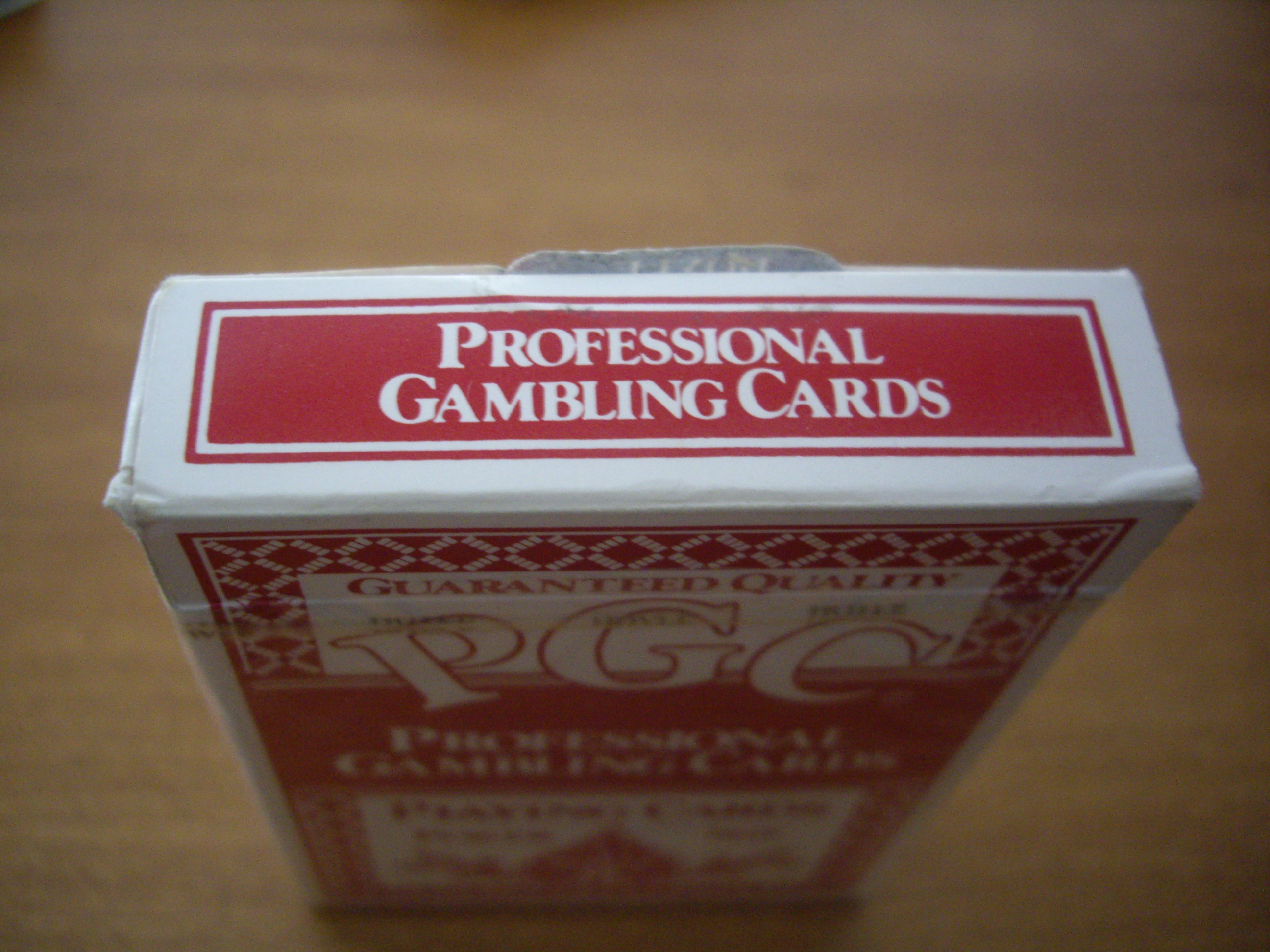 Pgc gambling cards