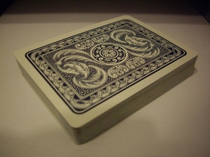 Neat back design. I need to procure a normal deck.
