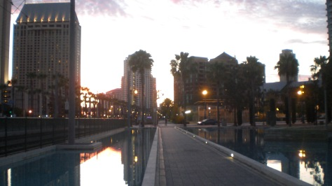 Sunset @ Downtown San Diego