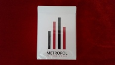 Front: METROPOL PLAYING CARDS