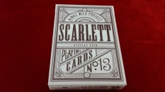 Front: KINGS WILD PROJECT Scarlett Display Deck Playing Cards NO. 13