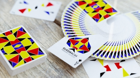 Glassback Playing Cards